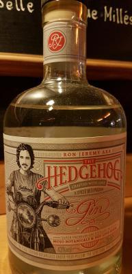 Gin von Ron de Jeremey in der 0,7l Flasche mit 43% Vol. Alc